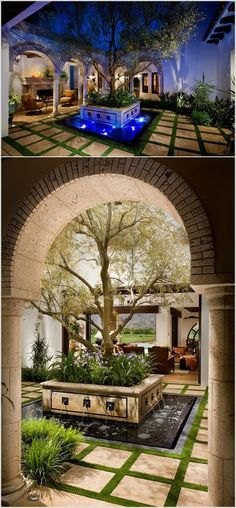 A Spanish Revival/ Spanish Colonial - Mediterranean - Patio - orange county - by South Coast Architects, Inc. Spanish Style Homes, Spanish Revival, Spanish House, Spanish Colonial, Spanish Design, Outdoor Rooms, Outdoor Living, Outdoor Patios, Outdoor Kitchens