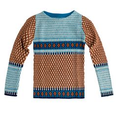 Really great knit modern pattern take on the Fair Isle.