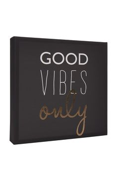 Primark - Good Vibes Only Wall Art