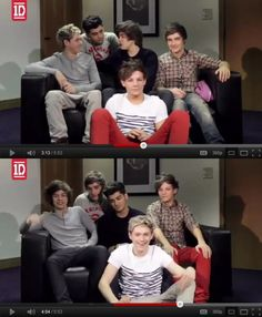 The video diary where they acted like each other! i love this one! never fails to make me laugh <3
