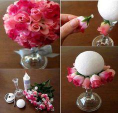 bolita de rosas!!!