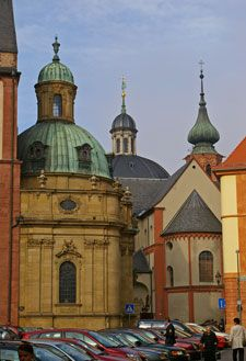 The Romantic Road-Würzburg-The religious centre of Bavaria, rich architecture, art & music culture; the beginning (North) of the Romantic Road!