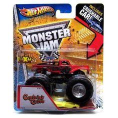 Hot Wheels Monster Jam Scale 1:64 Captain's Curse Crushable Car