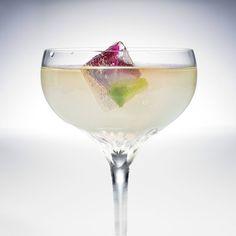 Iced Flower floral vodka cocktail