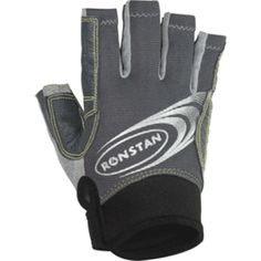 Ronstan Sticky Races Glove w-Cut Fingers - Grey - Medium. Sticky Race Gloves with Cut Fingers - Grey - MediumFeatures: Amara synthetic leather for maximum durability, minimum stretch and shrinkage Double Aramid stitching in high wear areas Double thickness palm and fingers for protection and grip UPF 50 (Ultra-Violet Protection Factor) Mesh panels for flexibility, comfort and quick drying Low cut neoprene wrist band for secure fit and clear access to start watch Sticky gloves reduce fatigue…