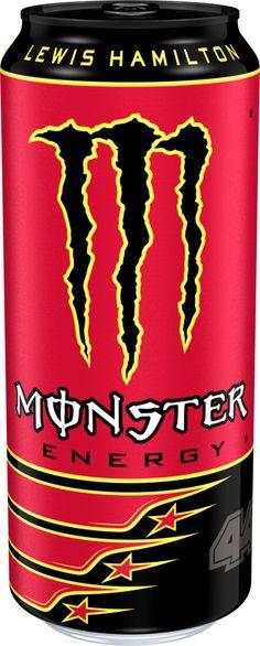 MONSTER Energy LH 44 Lewis Hamilton 500 ml UK