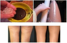 My Kitchen : How to Get Rid of Cellulite With Coffee, olive oil, coconut oil and salt wrap