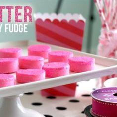 Glitter Party Fudge!