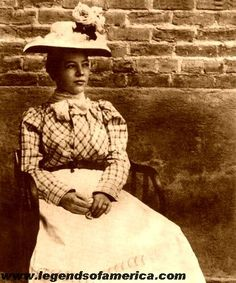 Pearl Hart, née Taylor, (c. 1871 – after 1928) was a Canadian-born outlaw of the American Old West. She committed one of the last recorded stagecoach robberies in the United States; her crime gained notoriety primarily because of her gender.Hart's release from prison came in the form of a December 1902 pardon from Governor Alexander Brodie