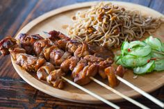 Chicken Satay with Peanut Noodles Recipe Recipe