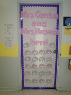 elephants --- what a great idea to keep in mind for a classroom