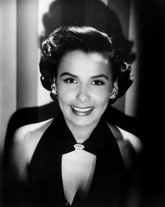 Lena Horne, American Actress and Film Star, 1945