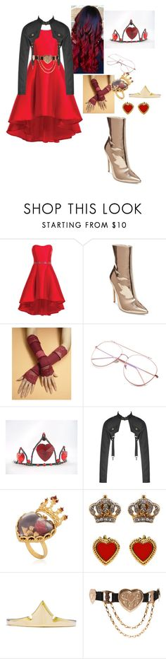 """Hera Hearts"" by tumblristicdaisies on Polyvore featuring Alyce Paris, Steve Madden, Dolce&Gabbana, Juicy Couture and ASOS"