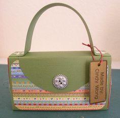 Altered Matchbox: Purse...darling as a bday favor