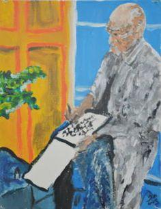 Henri Matisse 1. (Portraits 1. Painters, scene 1)