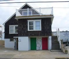 Jersey Shore House in Seaside Heights, where all the drama takes place with Snooki, Mike the Situation, Jwow, Pauly D and others.
