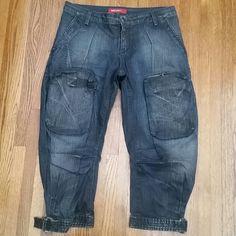 "Selling this ""Miss Sixty baggy cropped denim"" in my Poshmark closet! My username is: janeenieb. #shopmycloset #poshmark #fashion #shopping #style #forsale #Miss Sixty  #Denim"