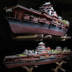 Incredible work from Satoshi Araki #beautiful #lindo #boat #barco #ship #miniatura #miniature #maqueta #maquette #plastimodelismo #modelismo #miniatura #miniature #plastickits #usinadoskits #udk #navio #satoshi #plasticmodel #plamodel #hobby #diorama