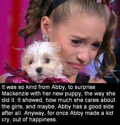 I think abby really has a good side she just pushes the girls to work harder and also for the show Dance Moms Quotes, Dance Moms Funny, Dance Moms Facts, Dance Moms Dancers, Dance Mums, Dance Moms Girls, Dance Moms Mackenzie, Mackenzie Ziegler, Dance Moms Comics