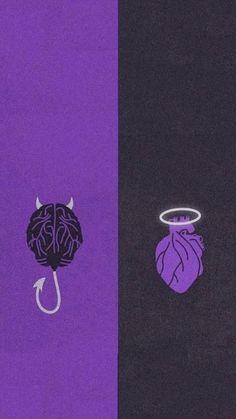 Glitch Wallpaper, Purple Wallpaper Iphone, Cute Wallpaper For Phone, Iphone Wallpaper Tumblr Aesthetic, Black Aesthetic Wallpaper, Emoji Wallpaper, Heart Wallpaper, Galaxy Wallpaper, Black And Purple Wallpaper