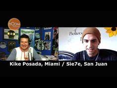 """Deliciosa conversación con el destacado cantautor puertorriqueño David Rodríguez Labault, SIE7E.  Una charla relajada como su nuevo álbum """"Relax"""", aquí nos habla de su vida, de su misión, objetivos, los por qués, los cómos y para qués de lo que hace, cómo toca los corazones de miles de personas en una forma única; su familia, lo más preciado y su Puerto Rico querido.  Entrevista por Kike Posada, El Quijote de la Música, editor de Boomonline.com"""