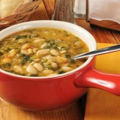 Southwestern Chicken Lima Bean Soup | #Chicken #Soup #Stew #LimaBean