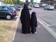 i want my daughter to embrace my niqab. Love this!