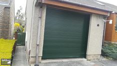 Roller Shutter Garage Doors from Garolla come in a variety of shades, including Green! Click the link to all of our roller doors for sale & our automatic garage doors cost.  #garage #garagedoor #garagedoors #garageinspiration #newgarage #newgaragedoors #garagedoorcolours #garagedoorcolour
