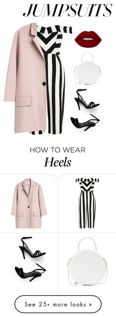 """""""Untitled #1678"""" by hodandahir on Polyvore featuring River Island, LULUS, Mansur Gavriel and jumpsuits"""