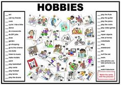hobbies en ingles - Buscar con Google