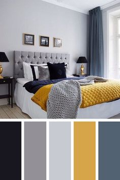 Master Bedroom Bathroom, Blue Bedroom, Bedroom Colors, Home Decor Bedroom, Modern Bedroom, Living Room Decor, Bedroom Ideas, Bedroom Apartment, Bedroom Furniture