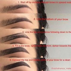 makeup yourself eyebrows - makeup yourself ; makeup yourself how to apply ; makeup yourself beauty tips ; makeup yourself videos ; makeup yourself make up ; makeup yourself eyeshadows ; makeup yourself eyebrows ; makeup yourself hair colors Makeup 101, Eyebrow Makeup Tips, Eyebrow Pencil, Makeup Hacks, Skin Makeup, Eyeshadow Makeup, Makeup Brushes, Beauty Makeup, Eyebrow Tinting