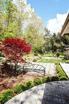via houzz, patio and landscaping ideas to borrow. design by Gardens for Living