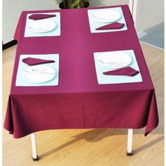 Solid Color Table Cover #tablecovers #tablecoversonline