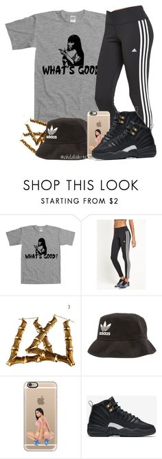 """""""""""Miley what's good?""""- Nicki Minaj"""" by childish-tc ❤ liked on Polyvore featuring adidas, Casetify and NIKE"""