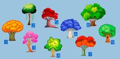 Test: ¡elige un árbol y este revelará tu destino para el nuevo año!