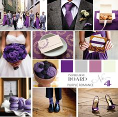 Purple_Romance Wedding Colour theme