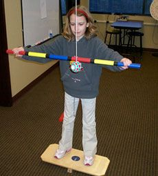 Marsden Ball vision therapy