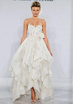 (via Pnina Tornai Wedding Dresses 2012   Wedding... Wedding dresses,cakes,bouquets,themes etc