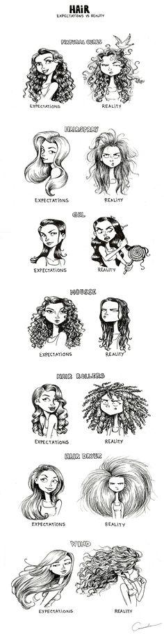 Hair: Expectations & Reality, by Cassandra