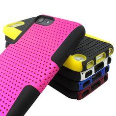 For Apple iPod Touch 5 5G 5th Gen APEX Mesh Hybrid Gel Soft & Hard Case Cover