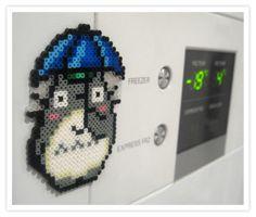 Totoro Magnet hama mini beads