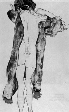 Youp Laboum - annajungdesign: Egon Schiele
