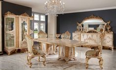 Luxury Dining Room, Luxury Sofa, Dining Set, Villa, Decor, Dinning Set, Decoration, Dining Ware, Dining Sets