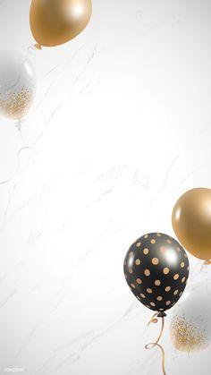 Leaves Wallpaper Iphone, Framed Wallpaper, Flower Background Wallpaper, Flower Backgrounds, Vintage Backgrounds, Gold Background, Happy Birthday Frame, Happy Birthday Wallpaper, Birthday Frames