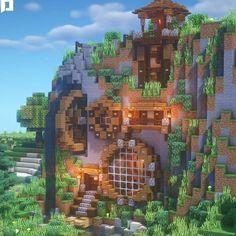 Lego Minecraft, Chalet Minecraft, Minecraft Kunst, Minecraft Villa, Architecture Minecraft, Construction Minecraft, Casa Medieval Minecraft, Minecraft Mansion, Minecraft Houses Survival