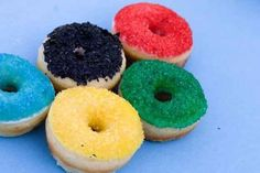 Bake Olympic donuts