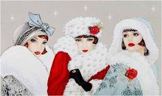 Judy Art Blogja: CLAIRE COXON'S CHRISTMAS WISHES