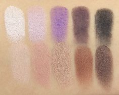 Stila In the Moment Eyeshadow Palette; Top (L-R): Instinct, Impulse, Glance, Improvise, and Catalyst; Bottom (L-R): Desire, Wonder, Spontaneous, Whim, and Captivate