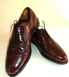 Men's 10 M Dexter Shoes Long Wingtip USA  NEW SOLEs by Insideredo
